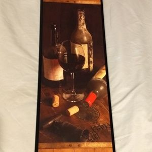 Other - Pinot Noir wine wall hanging